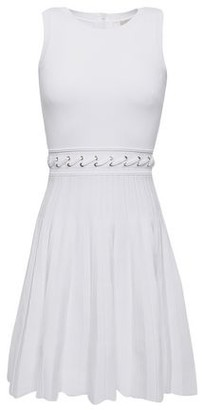 MICHAEL Michael Kors Pleated Knitted Dress