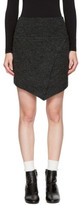 Etoile Isabel Marant Black Blithe Miniskirt