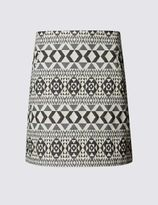 Marks and Spencer Jacquard Texture Mini Skirt