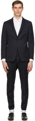 Ermenegildo Zegna Navy Techmerino WashandGo Suit