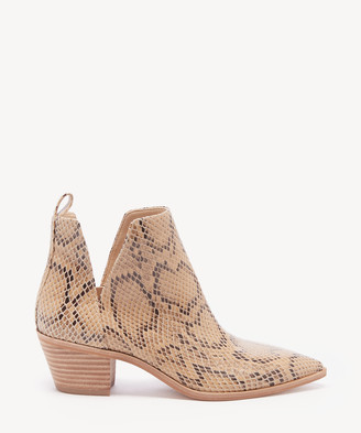 Sole Society Women's Laurelah Cutout Bootie Earl Grey Size 5 Haircalf From