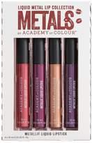 Academy Of Colour Academy of Colour 4-pk. Dark Metallic Liquid Lipstick Collection