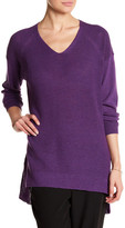 Eileen Fisher V-Neck Wool Pullover