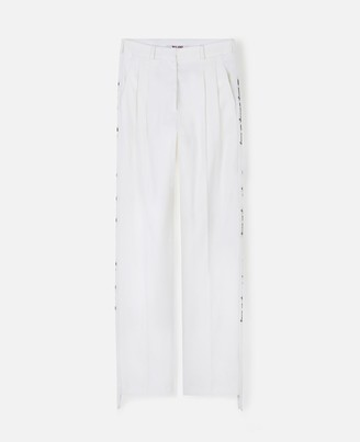 """Stella McCartney We are the weather"""" Tailored Pants WATW capsule, Women's"""