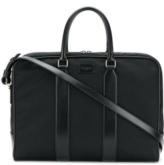 Saint Laurent Top-Zip Travel Briefcase
