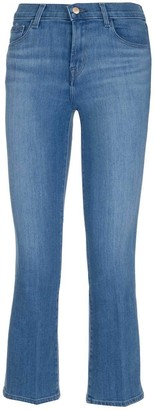 J Brand Selena Cropped Flare Jeans