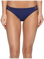 Roxy Strappy Love Reversible 70's Bikini Bottom