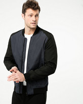 Le Château Colour Block Woven Bomber Jacket