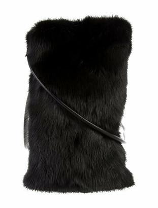 Fur Mink Crossbody Bag Black Mink Crossbody Bag