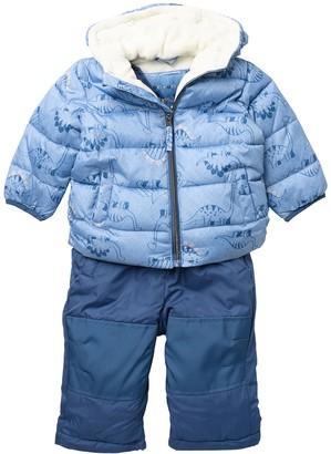 Wippette Dino Print Snowsuit