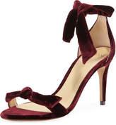 Alexandre Birman Clarita Velvet 75mm Sandal