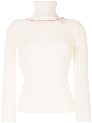 Y/Project Mesh-Panel Roll-Neck Jumper