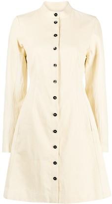 Jil Sander Structured Linen Shirtdress