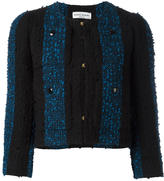 Sonia Rykiel short tweed jacket - women - Cotton/Acrylic/Polyamide/Cupro - 36
