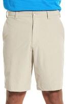 Cutter & Buck Men's Big & Tall 'Bainbridge' Drytec Flat Front Shorts
