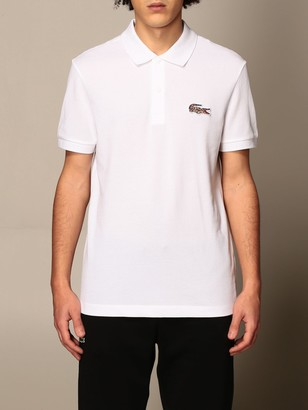 Lacoste T-shirt national Geographic Polo Shirt With Animalier Logo