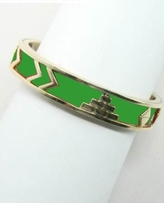 House of Harlow 1960 - Green Pyramid Bangle **In Stock Now**