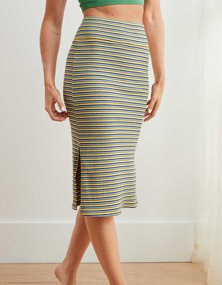 aerie Ribbed Knit Skirt