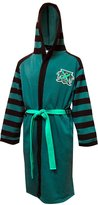 WebUndies.com Harry Potter Slytherin House Uniform Hooded Robe for men (Small/Medium)