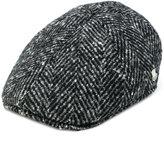 Tagliatore embroidered flat cap