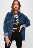 Missguided Blue Denim Jacket