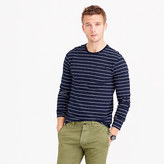J.Crew Slub cotton long-sleeve T-shirt in navy stripe