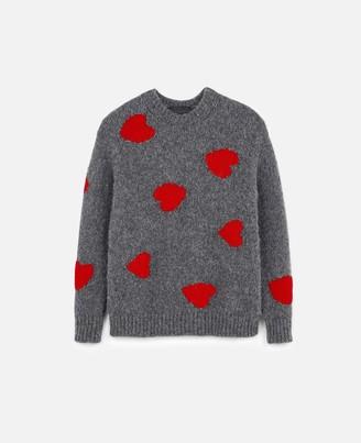 Stella McCartney Heart Intarsia Knit Jumper, Men's