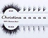 Christina 6 packs Eyelashes - #605