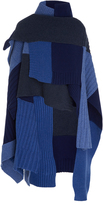 Burberry Merino Wool and Cashmere-Blend Poncho