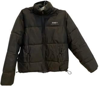 Obey Black Coat for Women