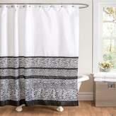 Lush Decor Tribal Dance Fabric Shower Curtain