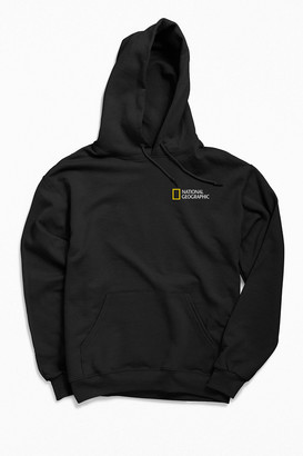 Urban Outfitters National Geographic Yellow Square Hoodie Sweatshirt
