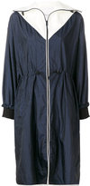 3.1 Phillip Lim contrast lightweight parka coat - women - Polyester/Polyimide - 4
