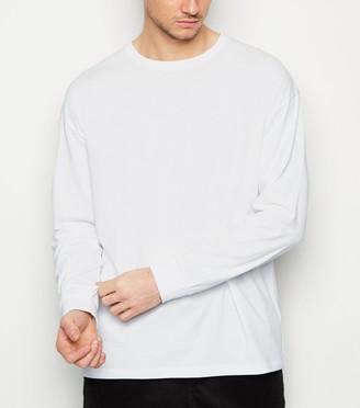 New Look Plain Long Sleeve Oversized T-Shirt