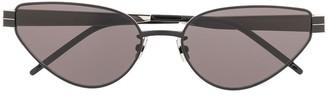Saint Laurent Eyewear Cat Eye Frames Sunglasses