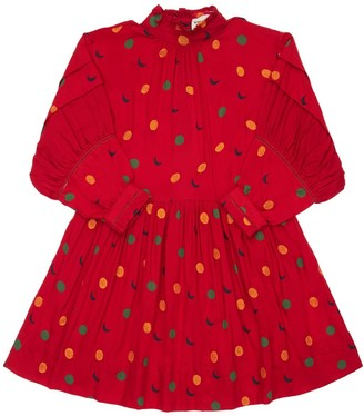 Bobo Choses All Over Print Viscose Dress