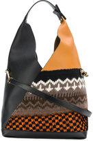 Loewe Sling knit bag