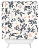 """DENY Designs Khristian A Howell JARDIN in Lilac Shower Curtain by 71""""x74"""")"""