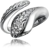 Just Cavalli Secret - Crystal Diamondback Snake Ring
