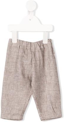 Il Gufo Dropped Crotch Trousers