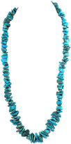 One Kings Lane Vintage Turquoise Nugget Bead Necklace