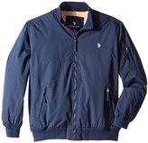 U.S. Polo Assn. Men's Rib Bomber Jacket
