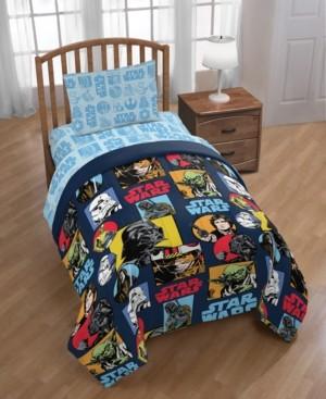 Star Wars Galactic Grid Twin Comforter Bedding
