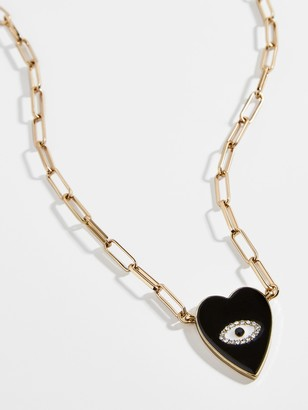 BaubleBar Noir Pendant Necklace