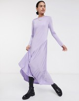 Weekday Karen dress in lavender