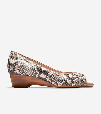 Cole Haan The Go-To Open Toe Wedge