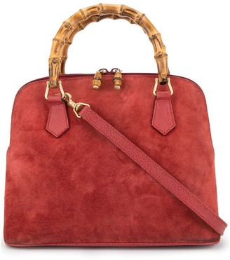 Gucci Pre-Owned Bamboo 2way hand bag