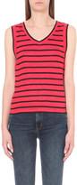 Claudie Pierlot Tenor striped linen top