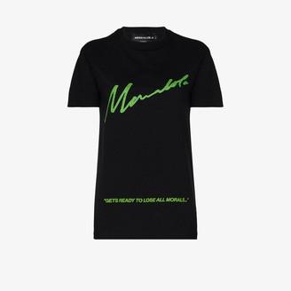 Mowalola X homecoming lose all morals T-shirt