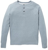 WILLIAMS & BROWN Button Neck Jumper